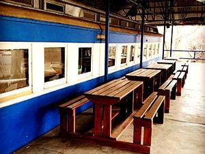 Willow-Express-train-exterior